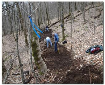 Trail building